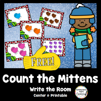 Free! Mittens: Count the Room! Write the Room, CC Aligned