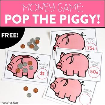 Free Money Game: Pop the Piggy!