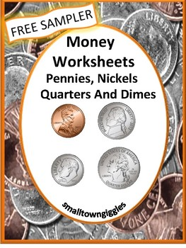 Free Money Worksheets, Coin Identification, Value, Interac