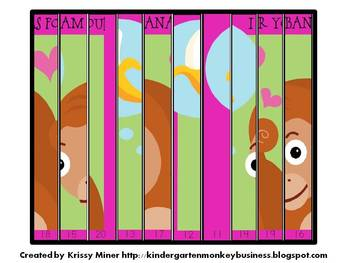 Free Monkey Puzzle and Valentine Card Kit