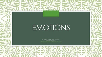 Free! Monster Emotion Vocabulary Cards!