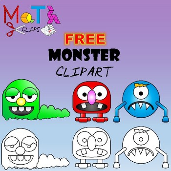 Free Monsters Clipart