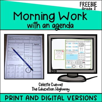 Morning Math with Agenda
