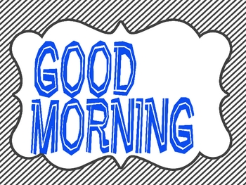 Free Morning Messages