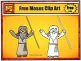Free Moses Clip Art - by Charlotte's Clips from Bible Series