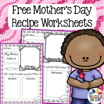 Free Mother's Day Activity