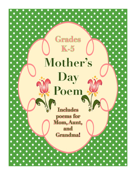 Free Mother's Day Poem