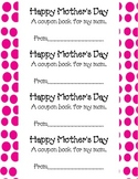 Free Mother's Day Coupon Book