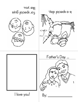 Free Mother's Day-Father's Day Page
