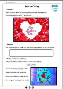 Free Mother's Day Lesson Pack