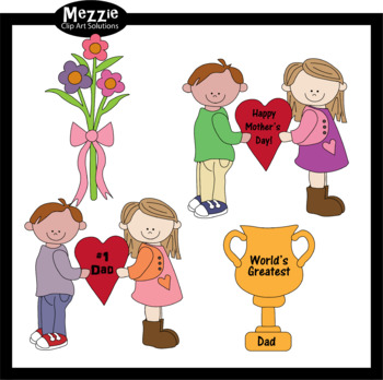 Free! Mothers and Fathers Day Clip Art