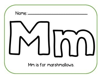 Multi-Sensory ABC Book Template