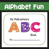 Multi-Sensory ABC Book Template
