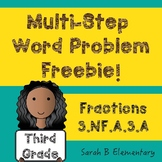 Multi-Step Word Problems-Fractions