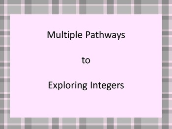 Free Multiple Pathways with Integers Sample