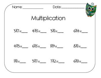 Free Multiplication Pack