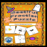 Free  Halloween Multiplying Fractions Puzzle