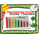 Free Music Lesson {Snake Charmer Boomwhacker Music}