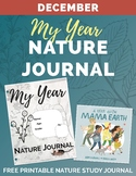Free My Year Nature Journal DECEMBER Printable