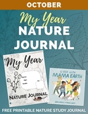 Free My Year Nature Journal OCTOBER Printable