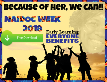 Free NAIDOC Week Poster- Australia