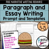 Free Narrative Writing Prompt for Paragraph and Essay
