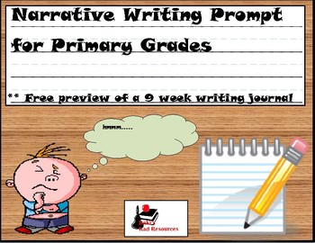 Free Narrative Writing Prompt for Primary Students