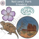 Free National Park Clipart Set