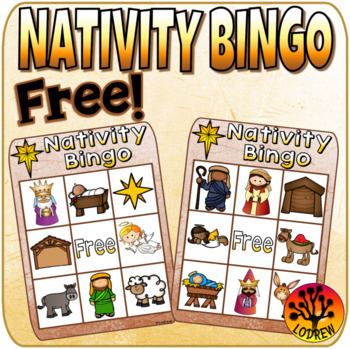 Free Nativity Bingo Happy Birthday Jesus By Lodrews