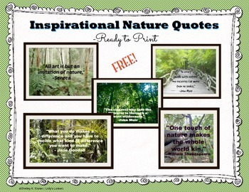 Free Nature Quotations