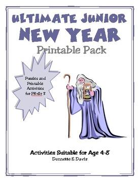 Free New Year Junior Printable Mini-Pack