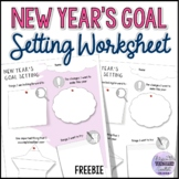 Free New Year's Goal Setting Worksheet (Editable)