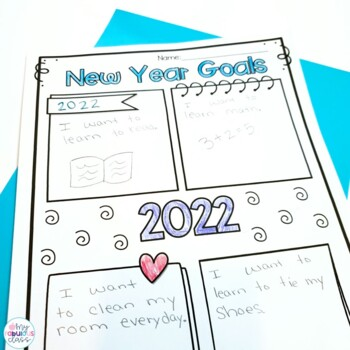 Free New Years Craft and Goal Writing