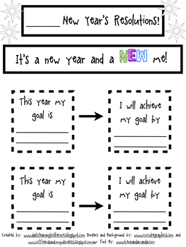 New Years 2018 (Differentiated) Resolutions