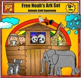 Free Noah's Ark Clip Art from Charlotte's Clips Catholic - Christian Series