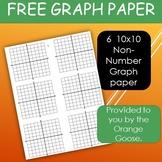 free 10x10 graph paper by orangegoose smith teachers pay teachers