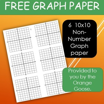 Free Non-Numbered 10x10 Graph paper