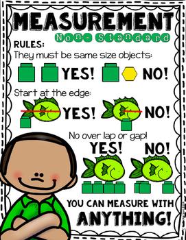 Free Non-Standard Measurement Anchor Chart