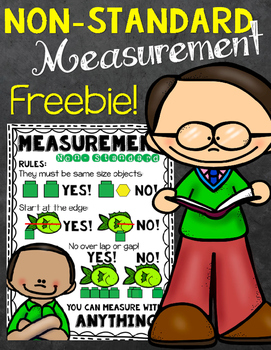 Free Non-Standard Measurement Anchor Chart