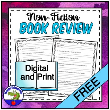 Free Nonfiction Book Review