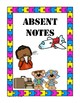 Free Note Covers for Teachers