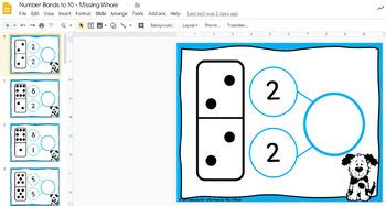 Free Number Bonds for Google Classroom Sample & Number Bonds Printable Page