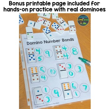 Free Number Bonds for Google Classroom Sample & Printable Page Distance Learning