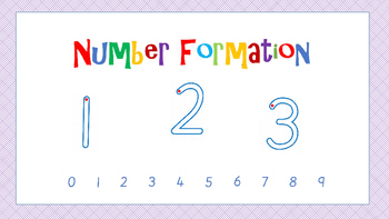 Free Number Formation Animated PowerPoint