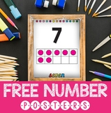 Free Number Posters 1-20
