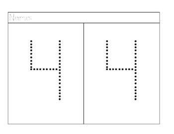 Free Number Tracing 1-10 for little learners, Preschool, Pre-K, Homeschooling