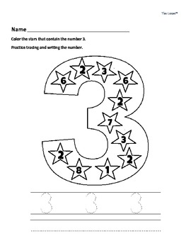 Free Number Writing Worksheets - Kindergarten & Early Elementary