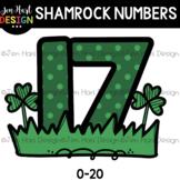 Free Numbers Clip Art - Shamrock Numbers {jen hart Clip Art}