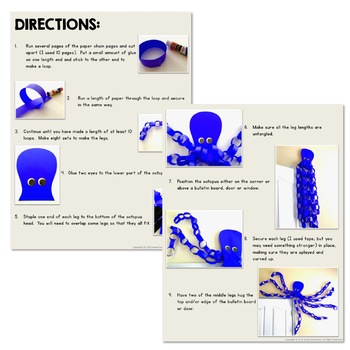 Free Octopus Craft Activity