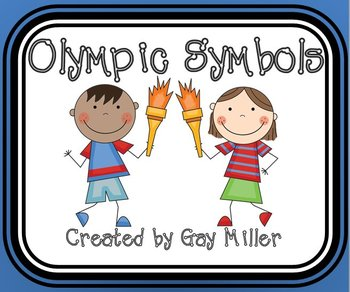 Free Olympic Symbols Activities